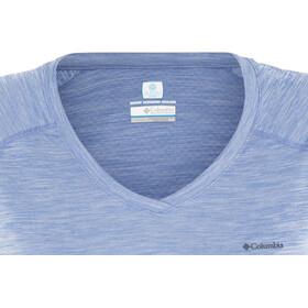 Columbia Zero Rules SS Shirt Damen medieval heather